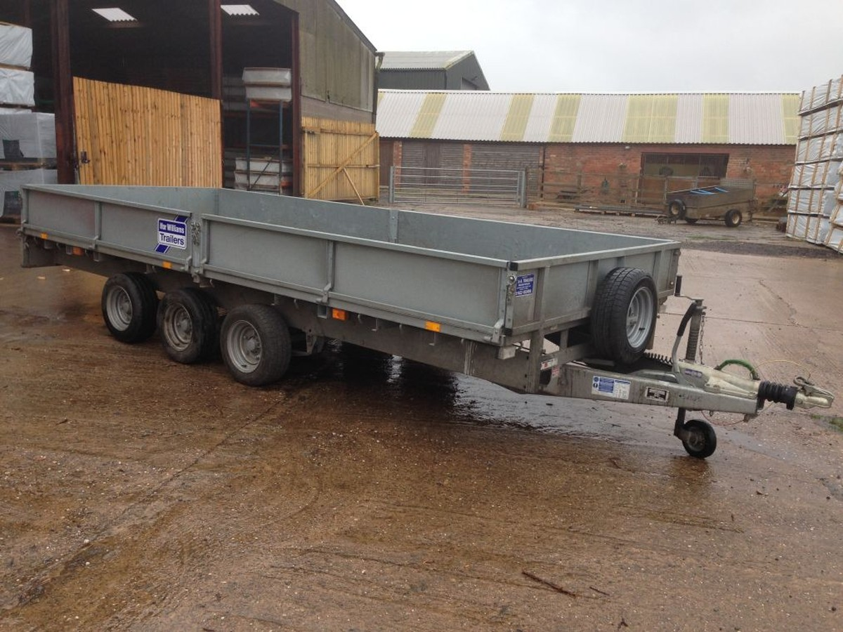 secondhand trailers ifor williams trailers 2012 ifor williams lm166g3 tri axle trailer. Black Bedroom Furniture Sets. Home Design Ideas