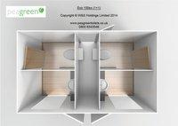1 + 1 toilet trailer 3d plan