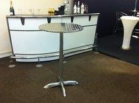 aluminium poseur tables