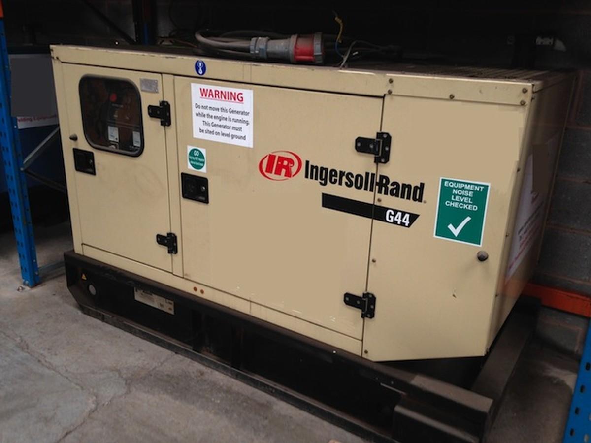 Secondhand generators generators 021 to 50kva 40kva for Generator motor for sale