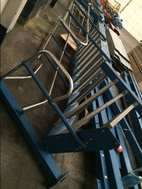 Used Mezzanine Floor Fire Escape Stairs