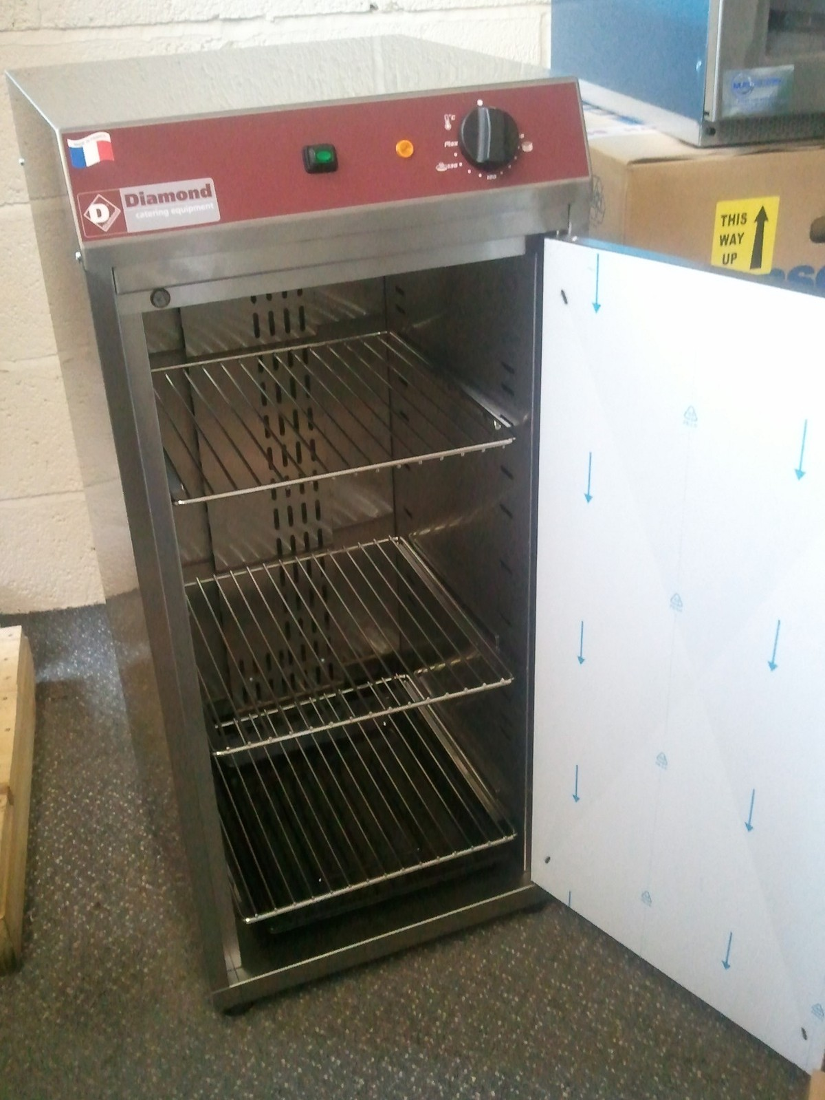 Used Plate Warmer ~ Secondhand catering equipment hot cupboards diamond