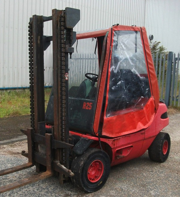 Linde H25 Diesel Fork Lift for sale