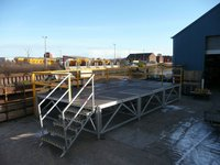 9M x 4.5M x 1.1M High Ro-Alloy Heavy Duty Staging