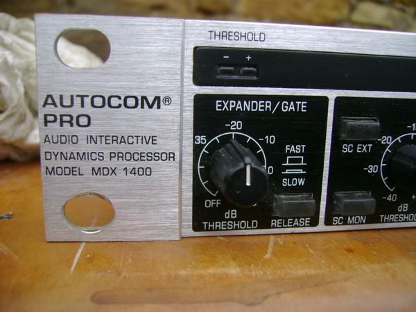 1x Autocom Pro MDK1400 Sound Limiter - Durham 2