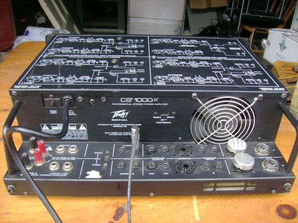 1x Peavey Amp CS1000x - Durham 1