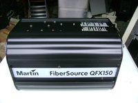 Martin Light Source QFX 150 and 40x Fiber Optic Cables