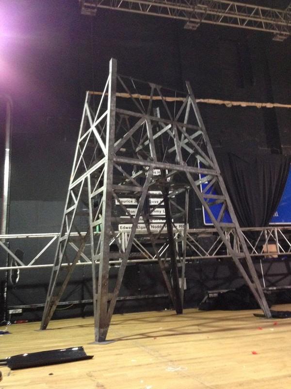 RKO Radio mast prop