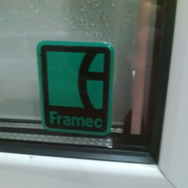 Framec upright display freezer