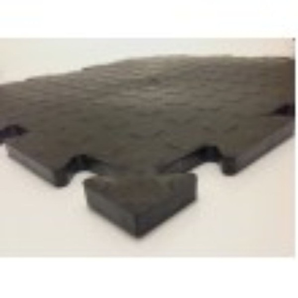 PennyLok Rubber High Impact Flooring Tiles