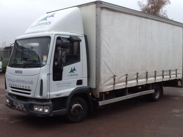 Iveco Eurocargo 75E17 Curtainside Lorry