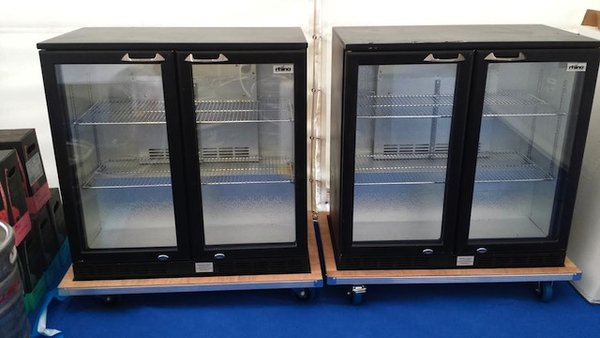 2x Rhino Bar Fridges