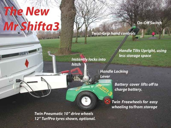 Mr. Shiffta Trailer Tug