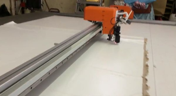 Marquee cutting plotter