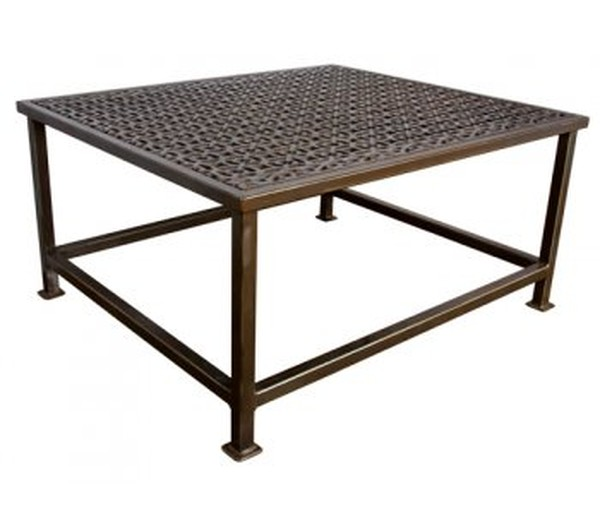Limited Edition Victorian Cast Iron Grille Coffee Table