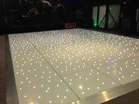 10ft x 10ft white led wireless starlight Dancefloor