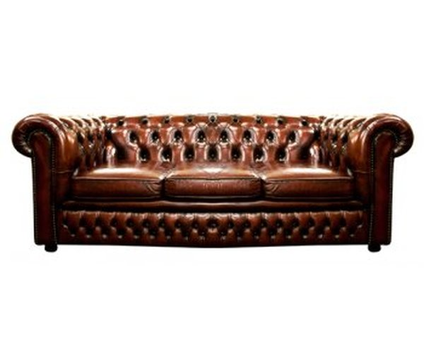 lounge and bar vintage oxblood leather chesterfield sofa london