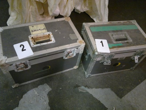 Job Lot Flight Cases Boxes and Foam