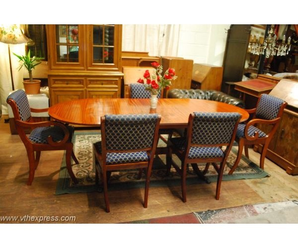 tables mahogany georgian dining table and 5 chairs london