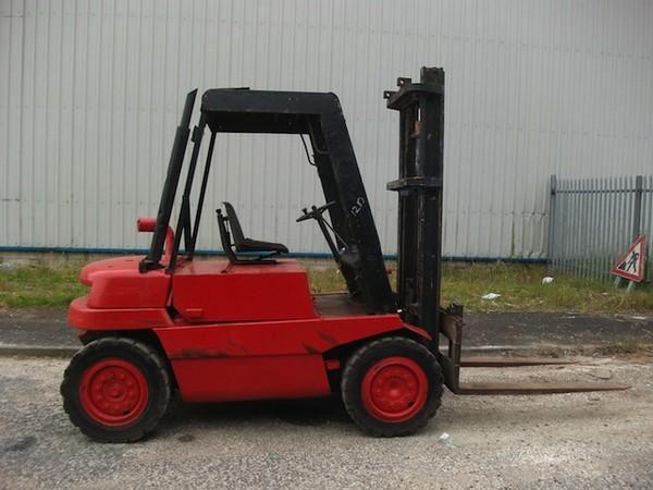Buy Used Linde H35D Diesel fork lift