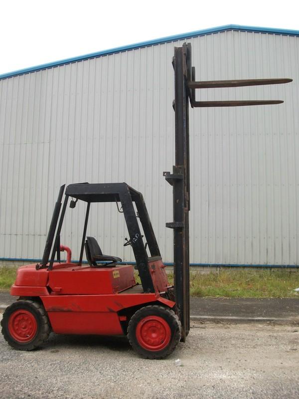 Selling Linde H35D Diesel fork lift