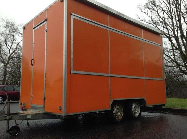 Sold Mobile Catering Trailer Burger Van