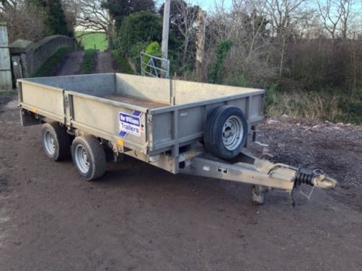 secondhand trailers ifor williams trailers ifor williams lm105g 10ft twin axle trailer. Black Bedroom Furniture Sets. Home Design Ideas
