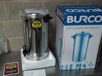 New Burco 16L coffee percolator
