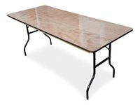 New 6ft Wooden Trestle Tables