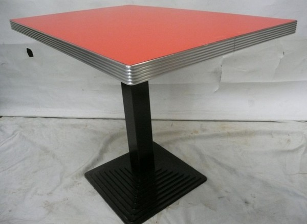 60s American Diner tables with cast base