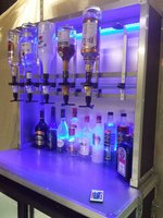 Back Bar Optic Unit