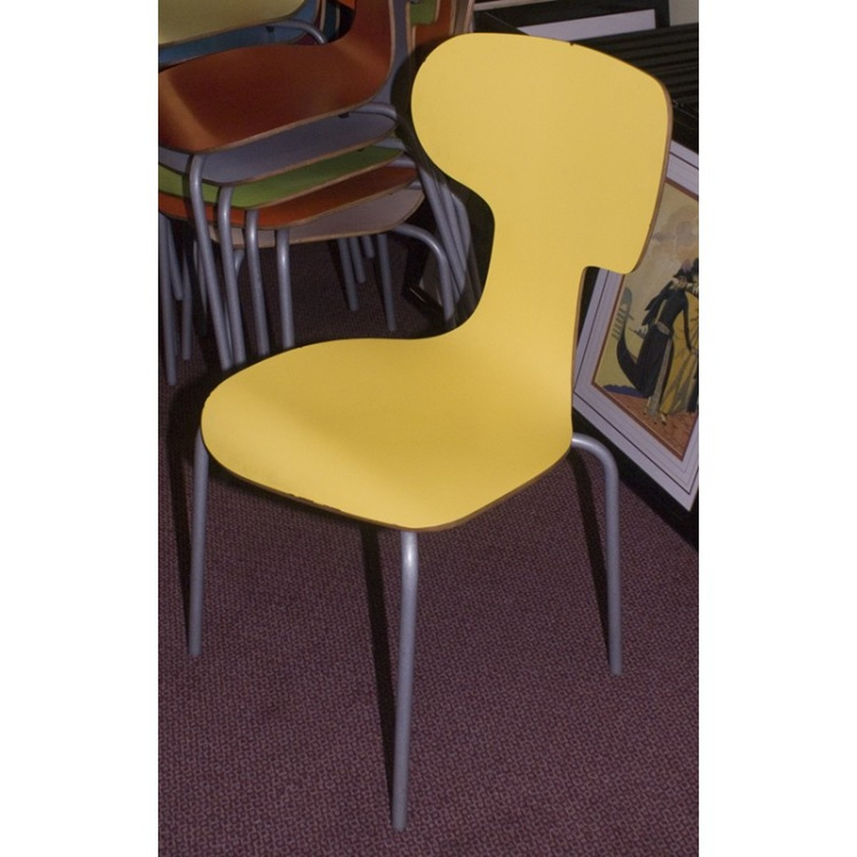 Modern cafe chairs and tables - Modern Quirky Restaurant Chairs Assorted Colours