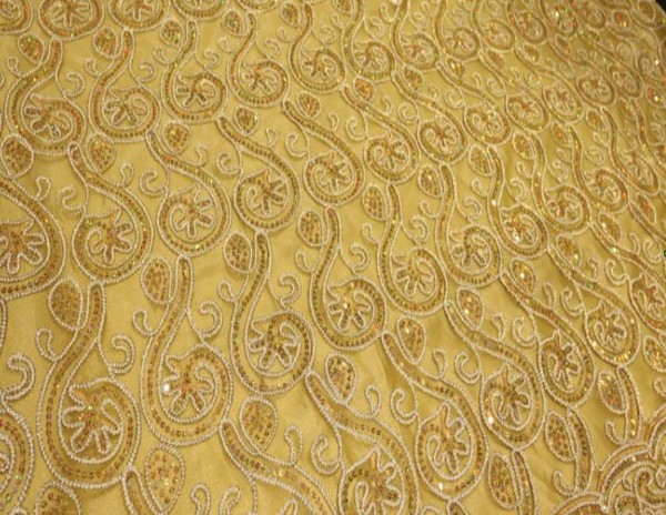 Gold Embroided Backdrops