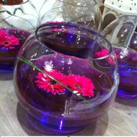 Fish bowl table decorations