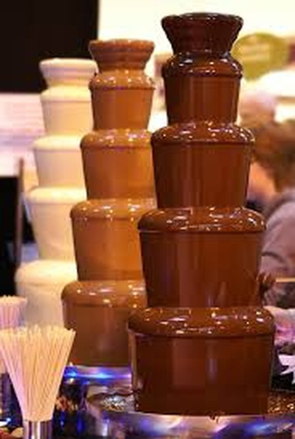 5 tier chocolate fountains