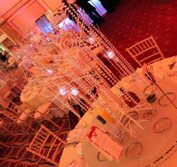 Crystal Tree table decoration