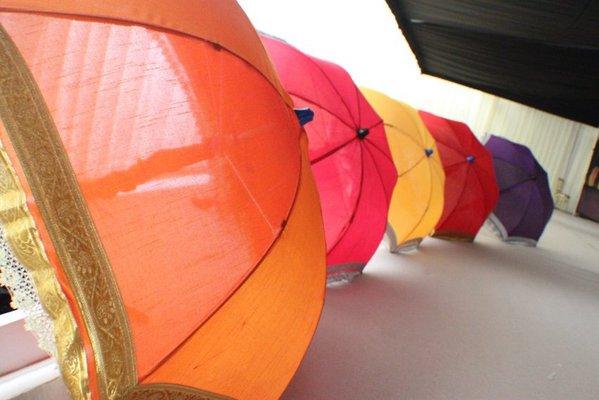 Decorative umbrellas