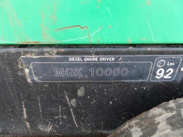 MGK 1000 Diesel Engine Driven