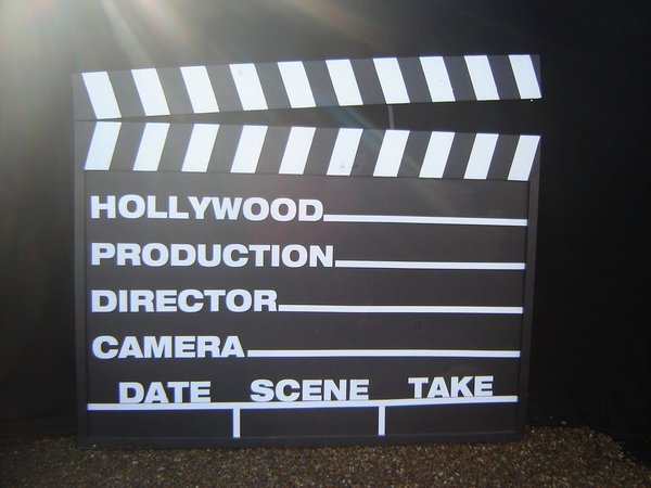 Giant clapper board for sale