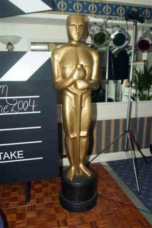 Giant Oscar Statue