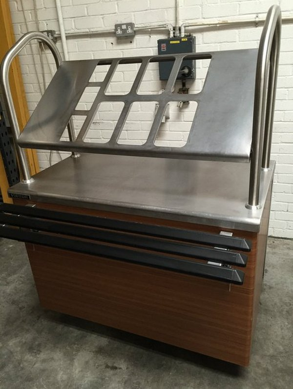 victor mobile cutlery or condiment counter