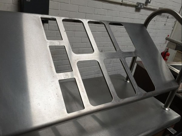 victor mobile sectioned self service counter