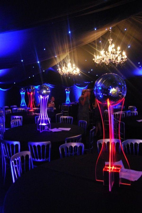 LED Table Centres