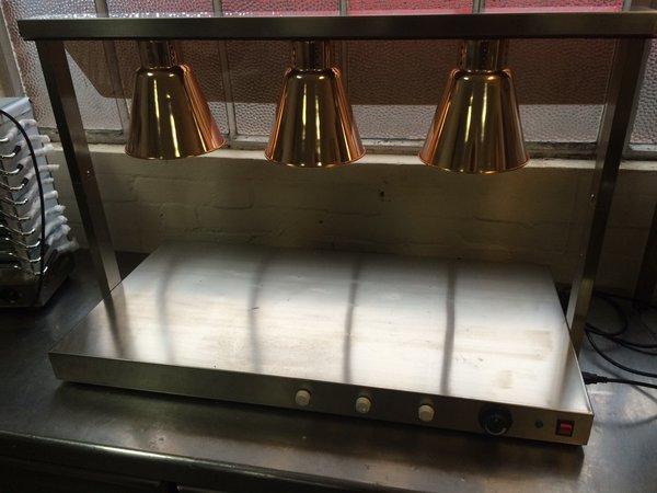 3 Lamp Heated Display Unit