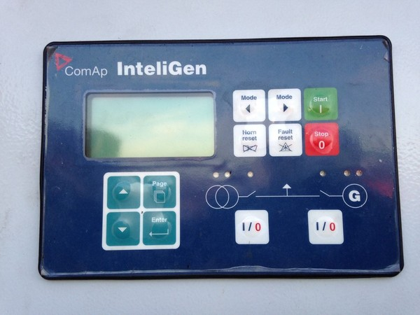 ComAp InteliGen pannel