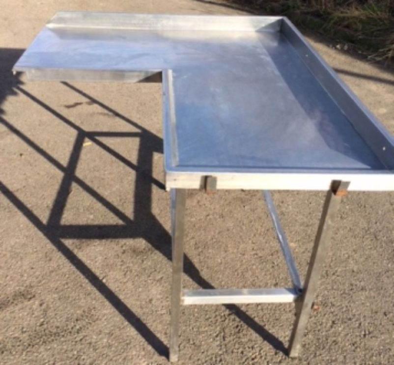 Table Top Dishwasher India : ... Stainless Steel Tables Corner Dishwasher Inlet Table - Sheffield