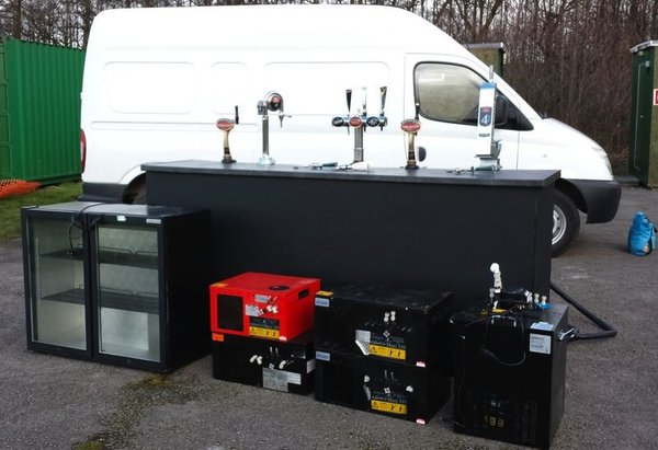 Mobile Bar Business Set Up