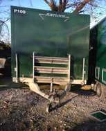 Mobile urinal toilet trailer