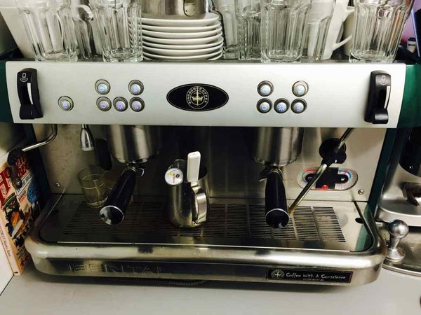 Iberital New Ladri 2 Group Fully Automatic Coffee Machine For Sale