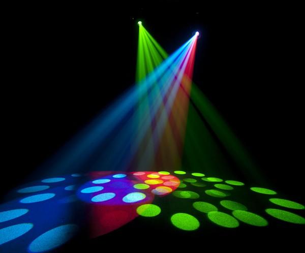 Chauvet Intimidator DJ lighting